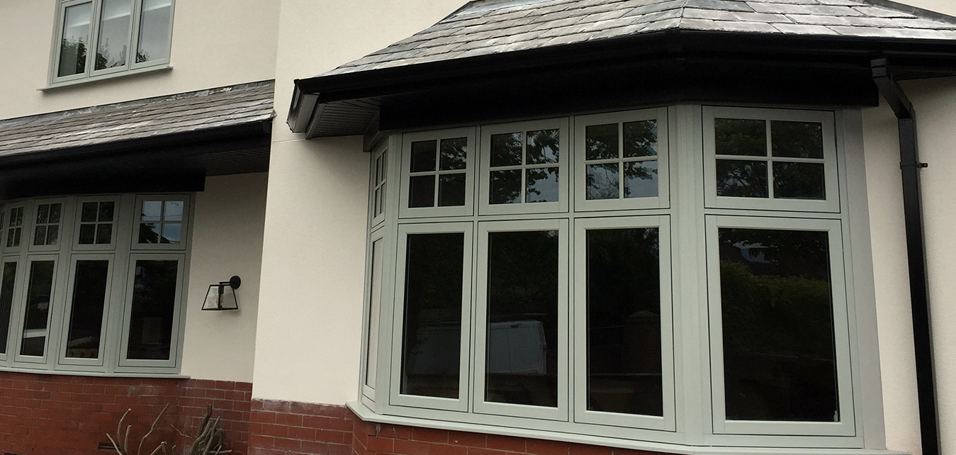 Traditional Timberlook UPVC Windows